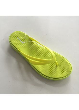 Green color Sandals and Slippers . Rubber Flip Flop Women's Slipper -