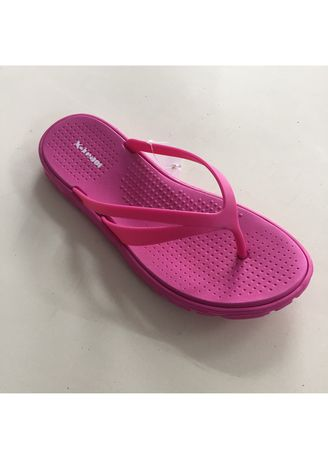 Pink color Sandals and Slippers . Rubber Flip Flop Women's Slipper -