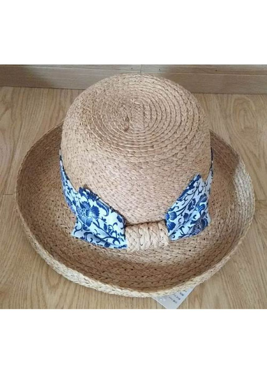 Brown color Hats . Women's Summer Beach Straw Hat -