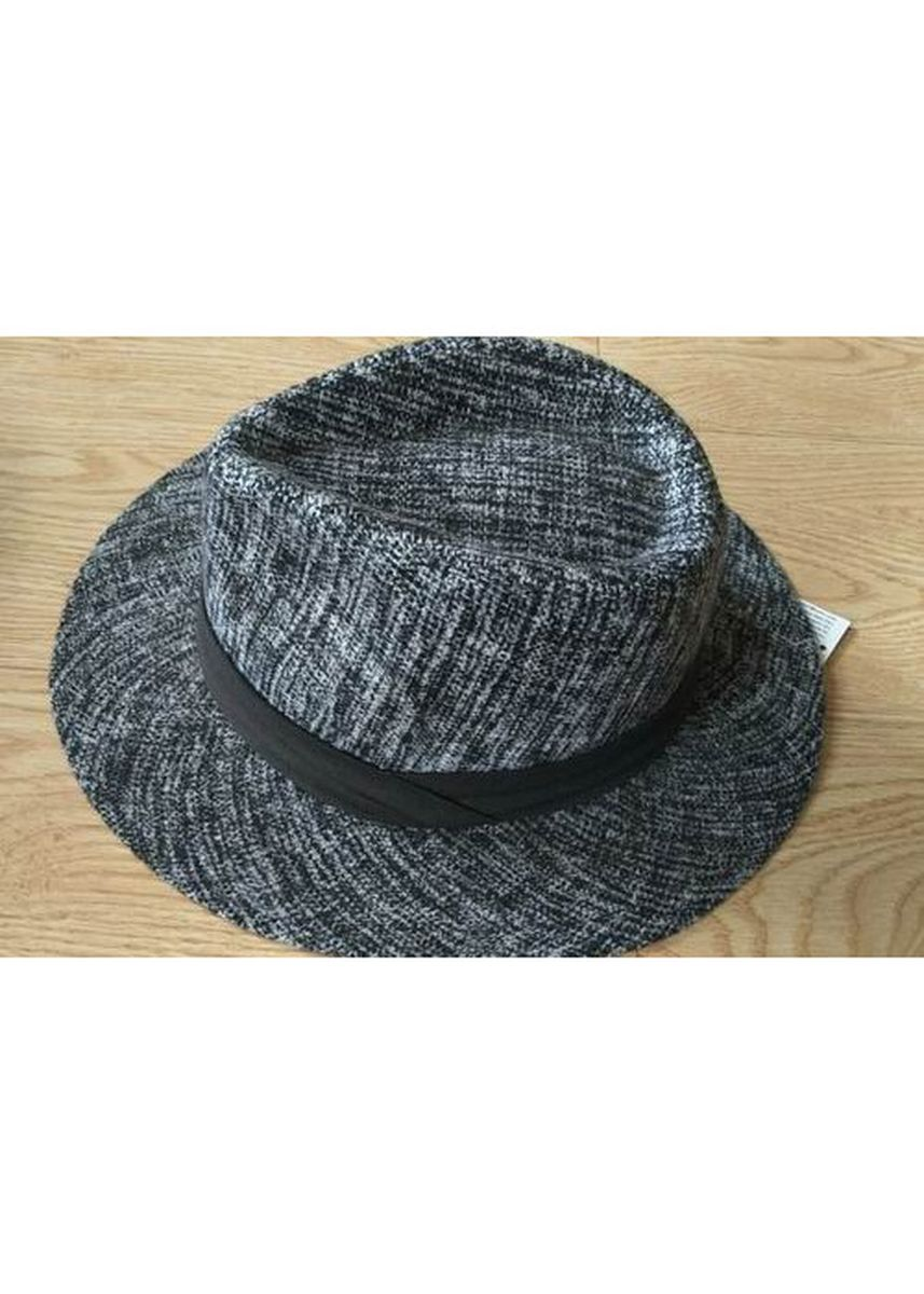 Grey color Hats . Women's Washed Fedora Hat With Band -