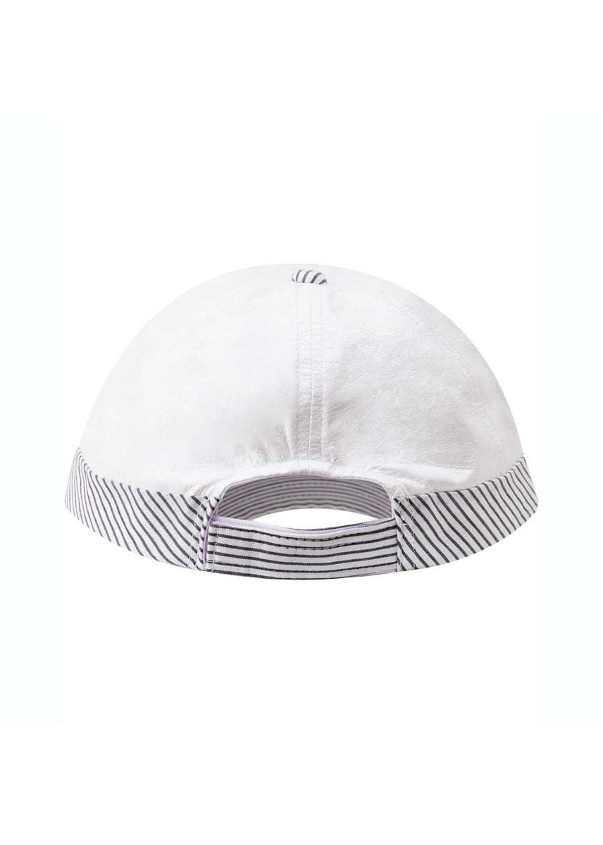 White color Hats and Caps . หมวกแค็ปกันยูวี JEFF -