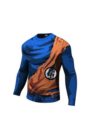 Multi color Sports Wear . Men's Full Sleeved Printed Compression Top -