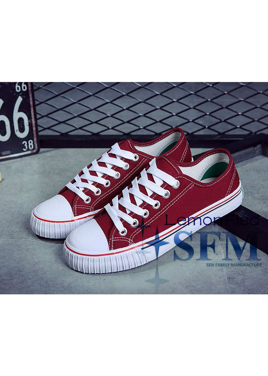 Red color Casual Shoes . Q6625 Sneakers -