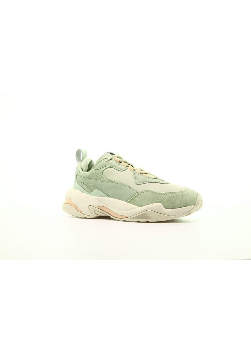 Green color Casual Shoes . Puma Thunder Mint Green (W) -