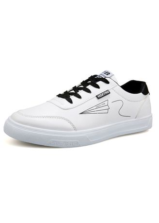 White color Casual Shoes . New fashion students white board shoes men sneakers -
