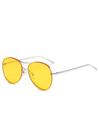 Yellow color Sunglasses . 2018 New Arrivals Fashion Ocean Sunglasses Uv400 Protection -
