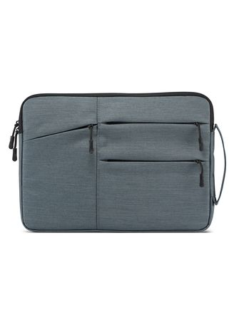 "Grey color Messenger Bags . DDC 15.6inch MZIPH Premium Padded Laptop Casing Sleeve Bag Waterproof 15.6"" -"