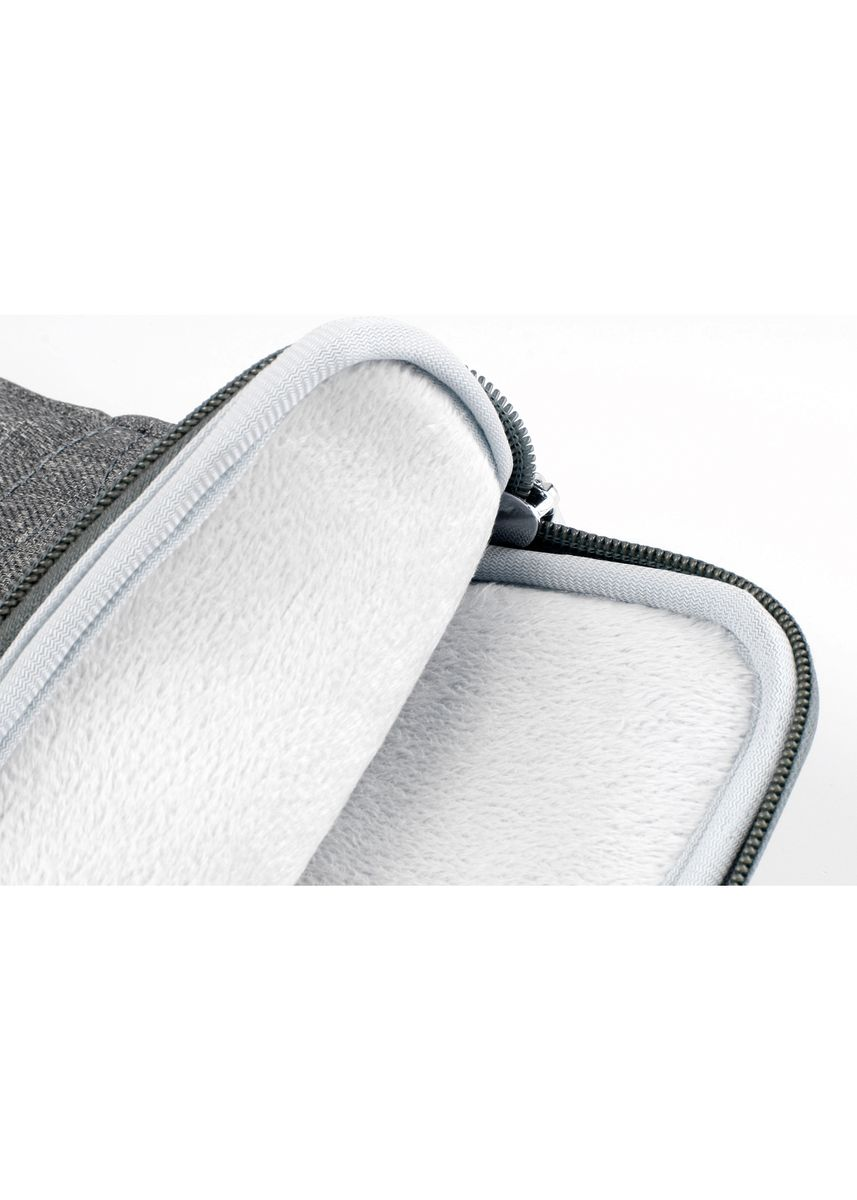 "Grey color Messenger Bags . Laptop Sleeve Bag Cover Padded 15.6"" -"