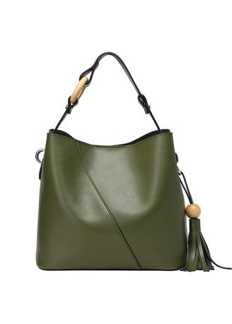 Olive color Sling Bags . กระเป๋าC Rossbody -
