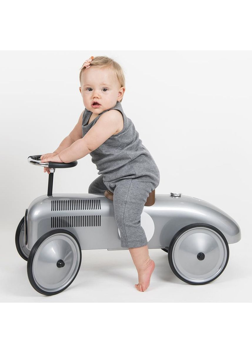 Grey color Dungarees . Hunter + Boo Jumpsuit (Unisex) -