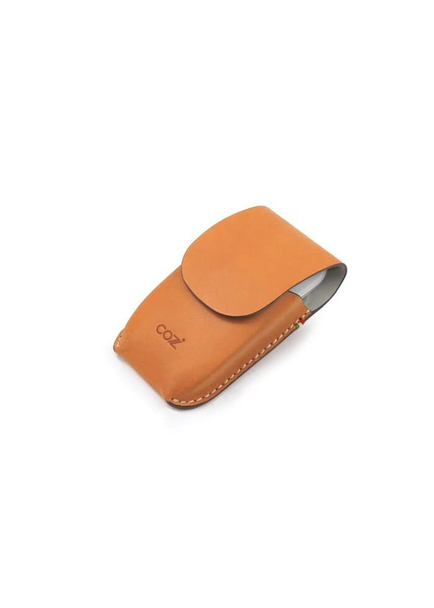 Tan color Pocket Squares . Cozi Leather Case for Magic Mouse -