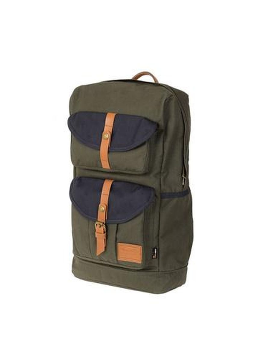 Green color Backpacks . BEDFORD CORDURA : ARMY X NAVY -