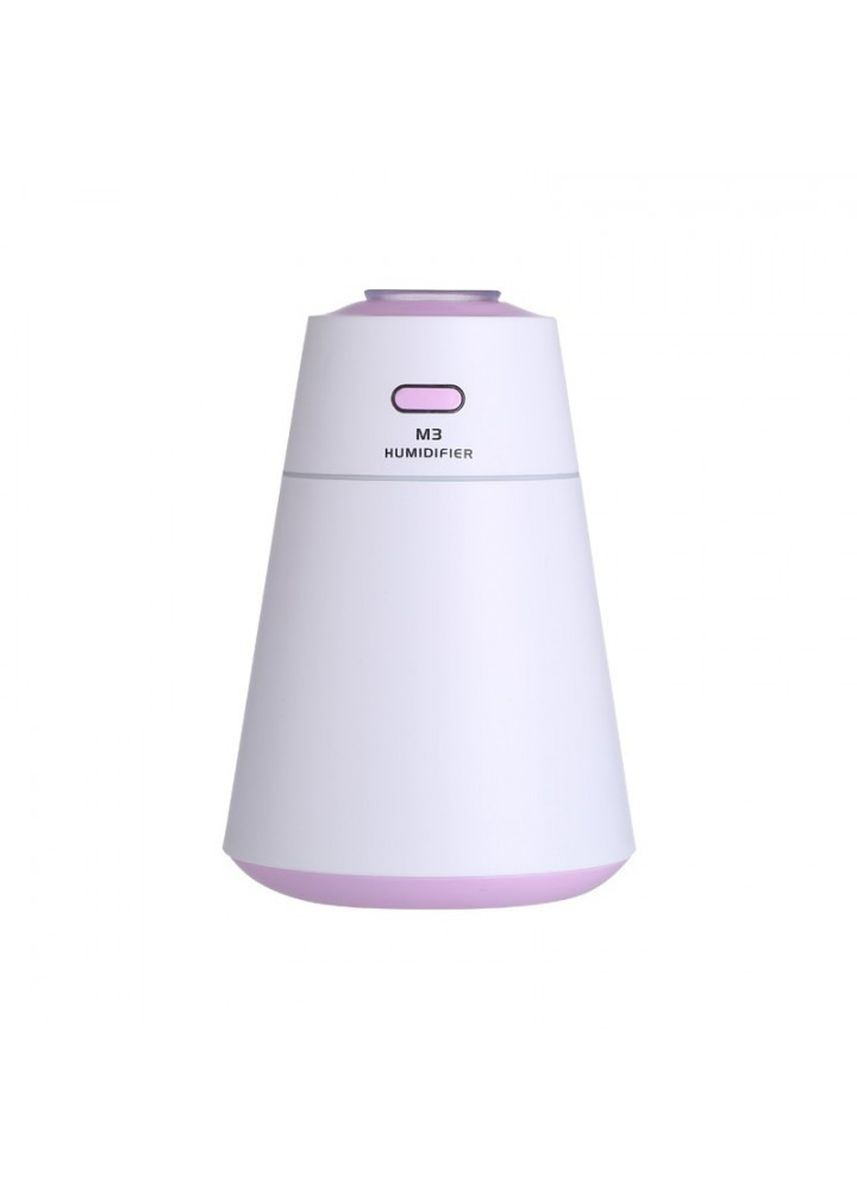 Purple color Home Fragrances . U17 USB Portable M3 HUmidifier Air Purifier LED Night Light 200ML Purple -