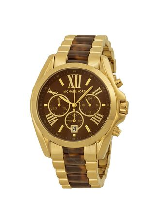 Gold color Chronographs . Michael Kors MK5696 Watch -