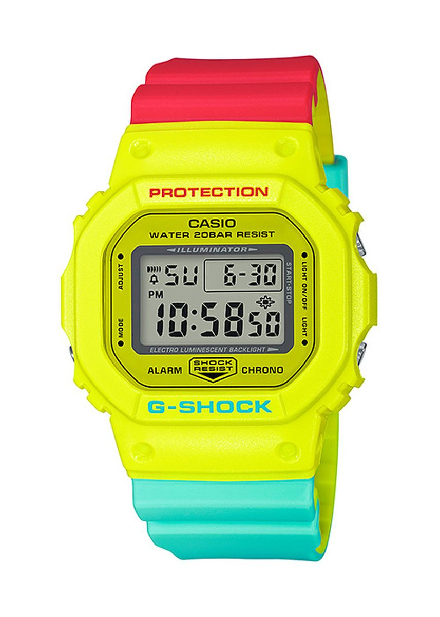 Multi color Digital . Casio DW-5600CMA-9 Watch -