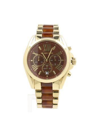Gold color Chronographs . Michael Kors MK6269 Watch -