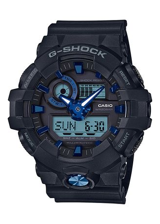 Black color Digital . Casio GA-710B-1A2 Watch -