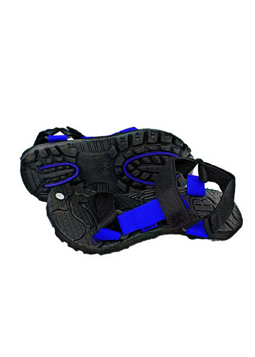 Blue color Sandals and Slippers . Arsy Sport / Sandal Gunung Pria - Sandal Pria - Merah -
