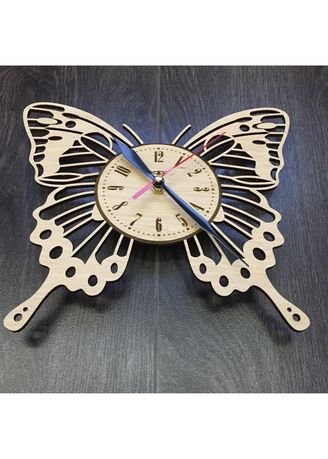 Butterfly Wall Art Wall Wood Clock Home Decor Personalized