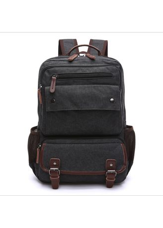 Black color Backpacks . New men's portable shoulder computer backpack -