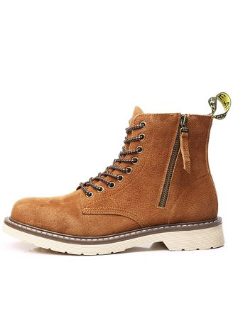e20a09ddb13 Martin Boots Men's Leather Workwear British Wind High Tide Shoes