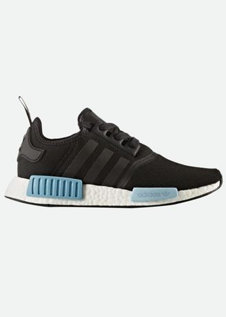 Adidas Nmd R1 Color Core Black Icey Blue By9951 Thailand