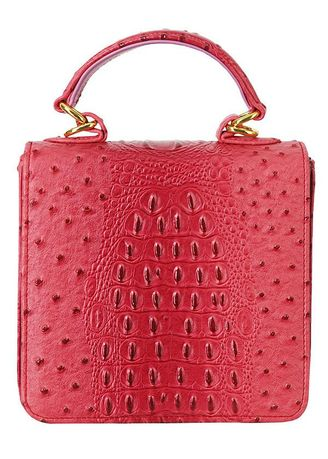 Red color Sling Bags . Mayor&Milady by Anne Kokke กระเป๋าสะพายข้างรุ่น MMY-1 -