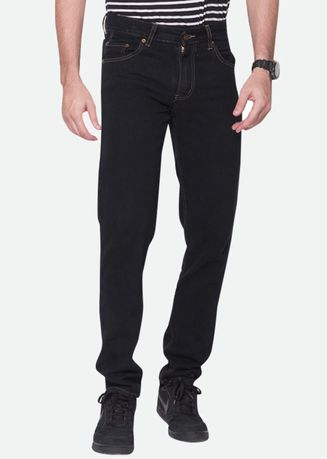 Black color Jeans . 2Nd RED Celana Jeans Pria Basic Denim Hitam 124196 -