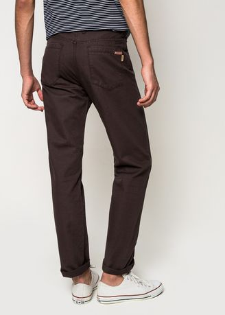 Brown color Casual Trousers and Chinos . VELONI- #4572 -