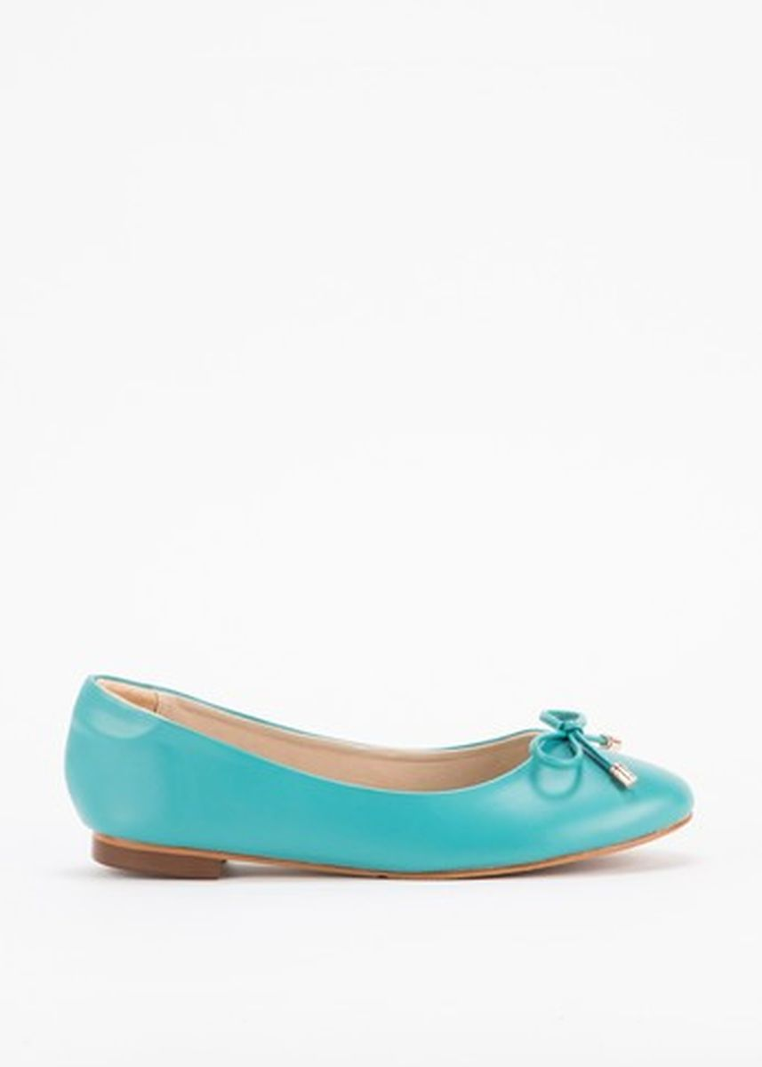 Cyan color Sandals and Slippers . รองเท้าส้นแบน Mary c1 -