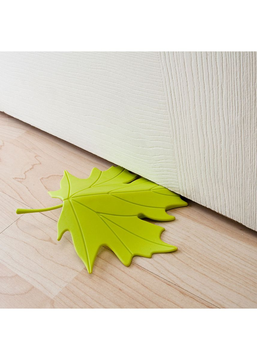 Green color Home Decor . Qualy Autumn Door Stopper -