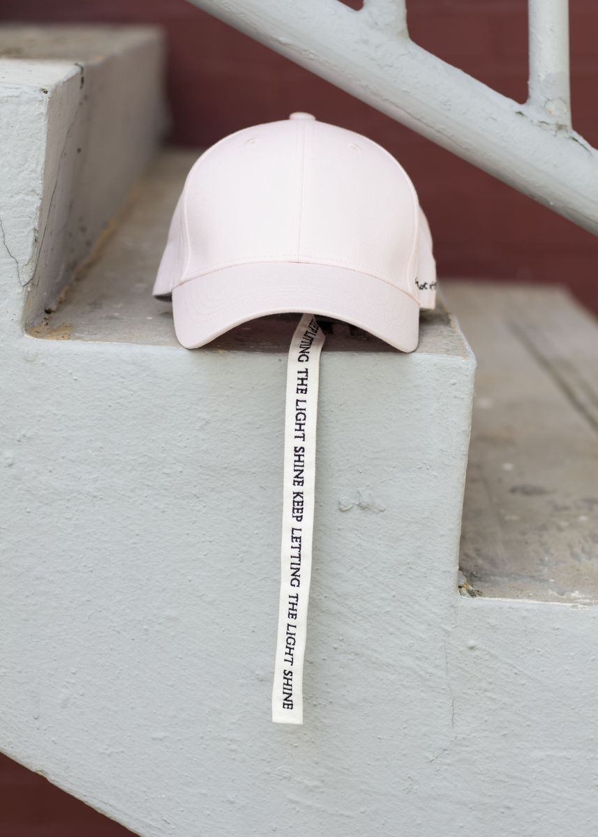 Pink color Hats . Keep Letting the Light Shine -