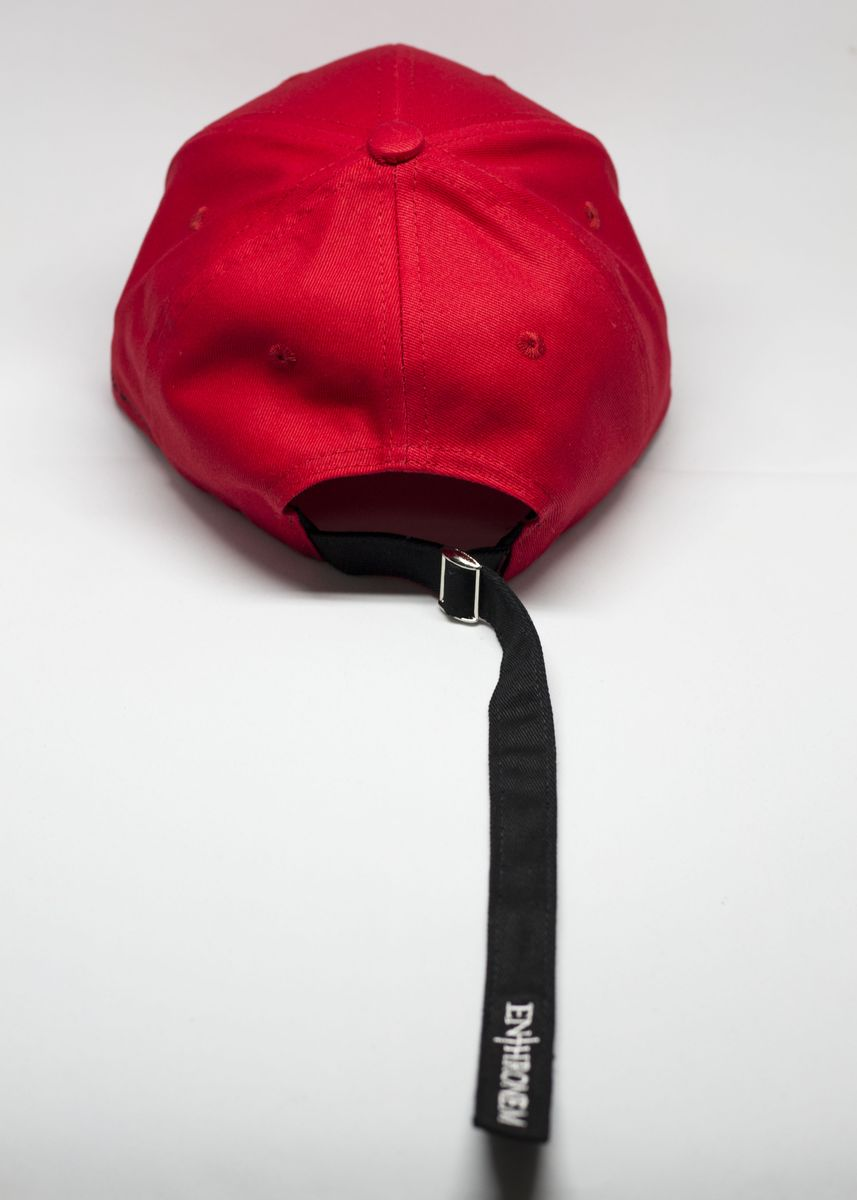 Red color Hats . Cross Cap -