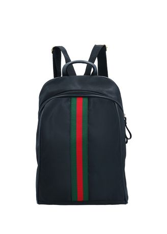 Hitam color Ransel . MYNT By MAYONETTE Mikro Backpack Stripe -