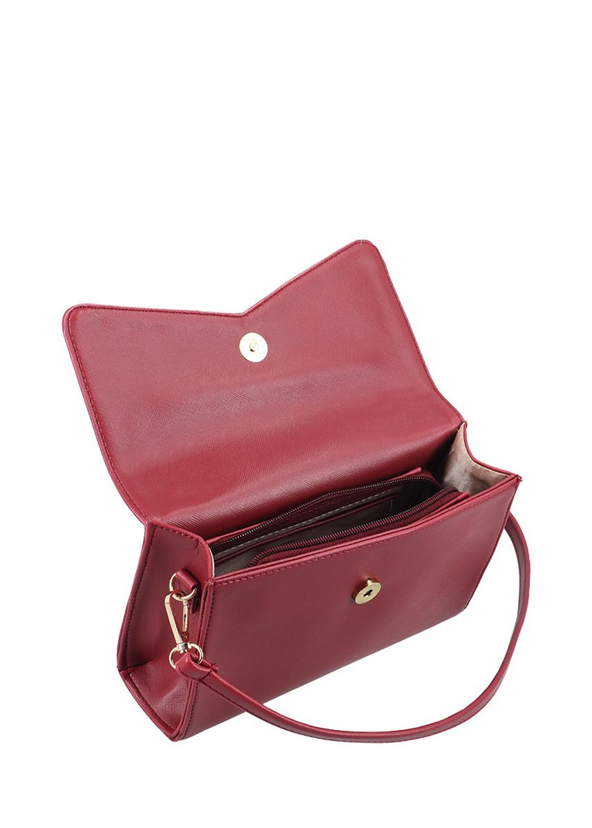 Maroon color Hand Bags . MAYONETTE Evelyn Hand Bag Maroon -