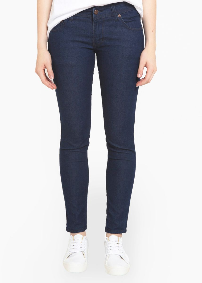 Biru Dongker color Celana Jeans . 2Nd RED Jeans Slim Fit Airry Navy 233203 -