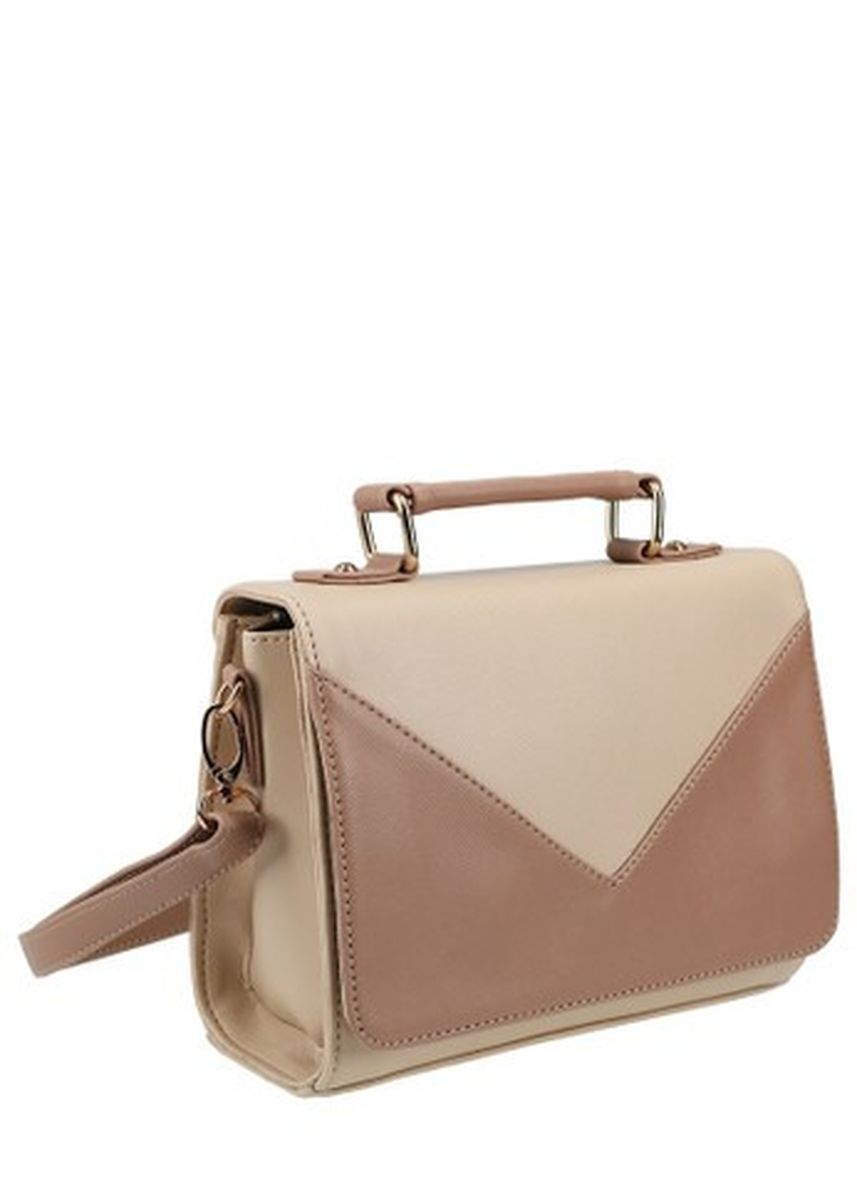 Beige color Sling Bags . MAYONETTE Triana Sling Bag Cream -