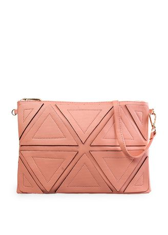 Pink color Sling Bags . MAYONETTE Cloxy Sling Pink -