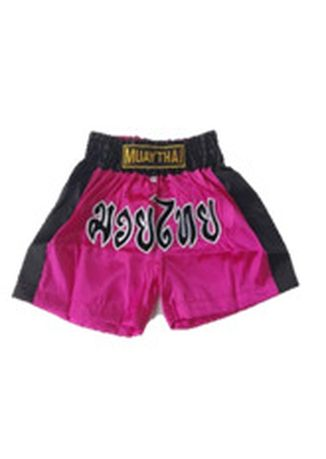Pink color Bottoms . Thai Boxing Short #  Classic -