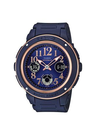 Blue color Digital . Casio Baby-G BGA-150PG-2B2 -