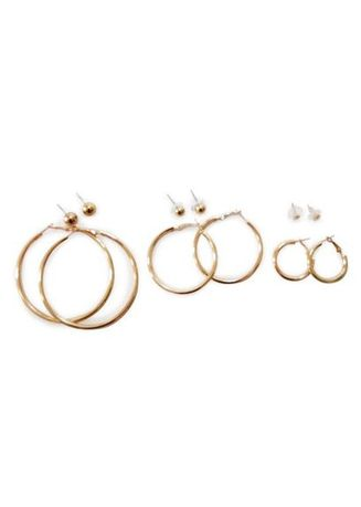 Gold color  . Turi Earrings 14171 gold -