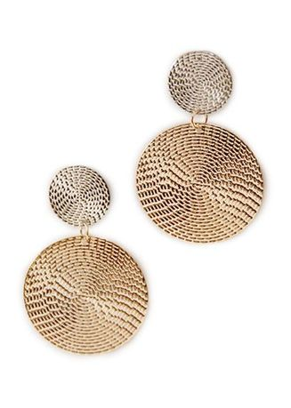 Gold color  . Turi Earrings E3333 Gold -