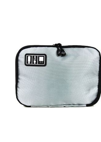 03f1301f85bb Travel Manila Medium Size Gadget Organizer Kit Bag (Light Grey)