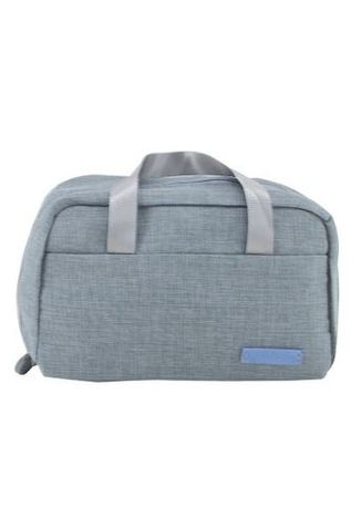 e9db74da2cae Travel Manila Grey Cosmetic Bag