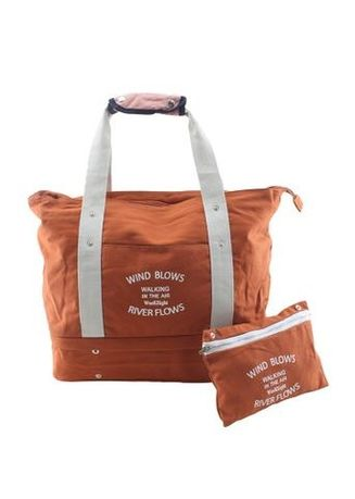 3393301049d0 Travel Manila Orange Travel Tote Bag