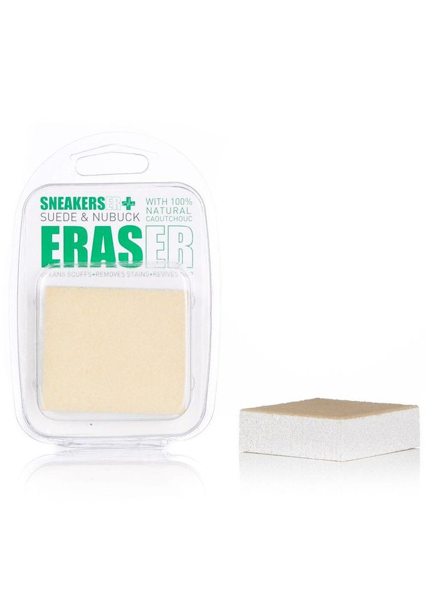 No Color color Polishes & Cleaners . SneakersER Eraser Crepe Suded & Nubuck with 100% Natural Rubber -