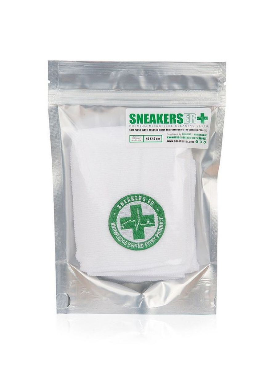 No Color color Polishes & Cleaners . SneakersER Premium Plush Sneaker Cleaning Microfibre Cloth -