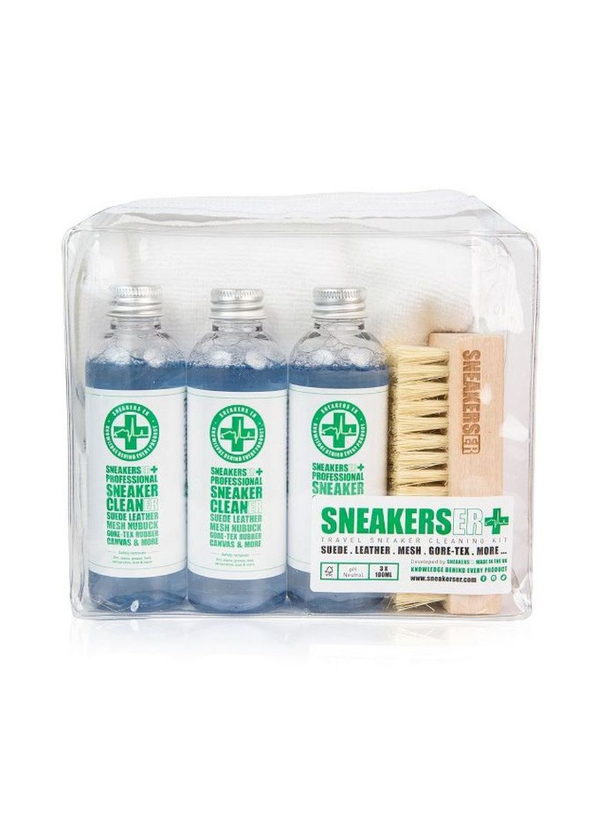 No Color color Polishes & Cleaners . SneakersER 6 Piece Hand Luggage Security Travel Kit -