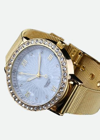 Jam Tangan Wanita Gold Plated Materials Import 95e54fcc32