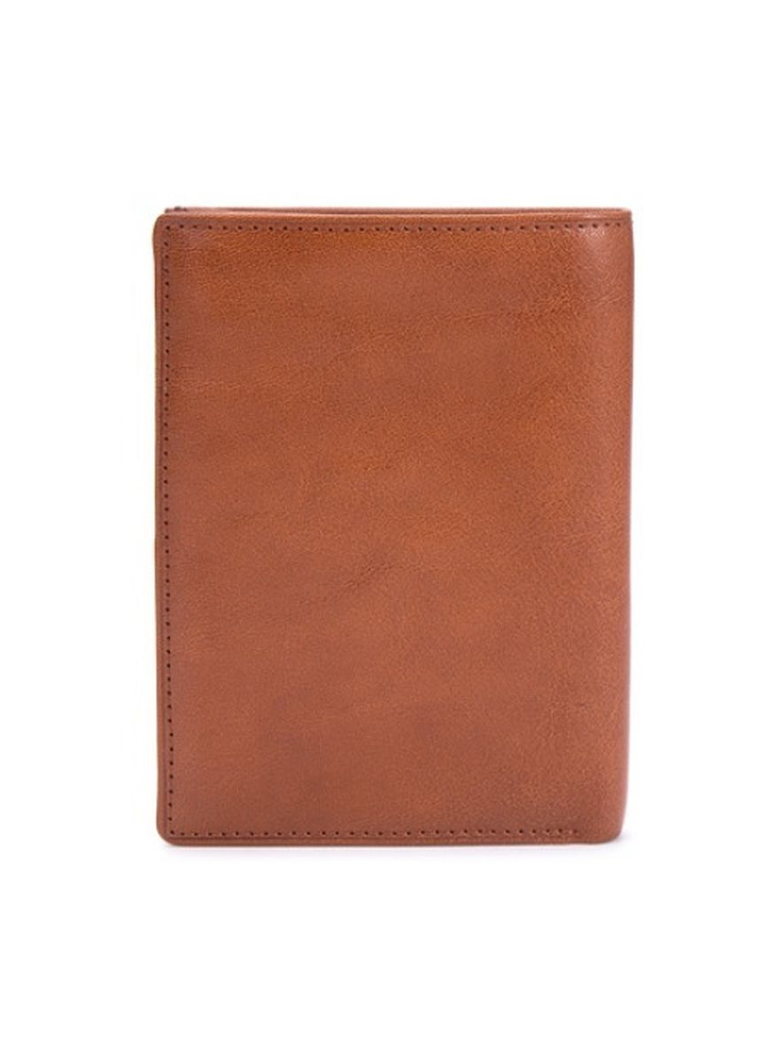 Brown color Wallets . McJim Solid Toned Trifold Wallet -